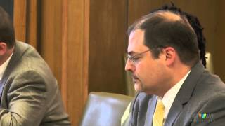 Marque Brown hearing on hospital May 1, 2015