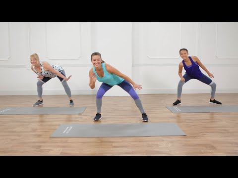 15-Minute No-Equipment At-Home Cardio Workout Including Low-Impact Modifications