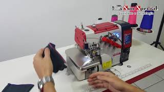Máquina de Costura Industrial Overloque SS-94PD-BK-AT-SP-BR