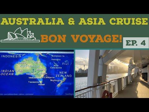 Cruise to AUSTRALIA l Leaving Sydney l Cruise Vlog l Ep. 4