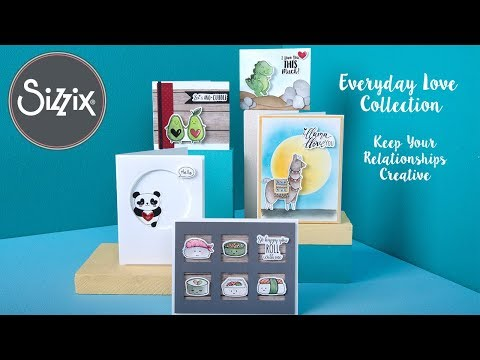 Everyday Love | Sizzix