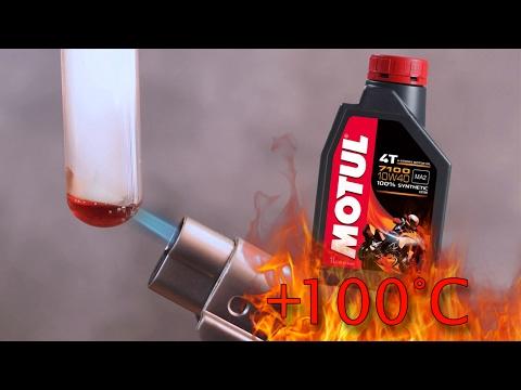 Motul 7100 4t 10W40 Jak czysty jest olej silnikowy? Test powyżej 100°C