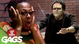 bromas farsa con Frankenstein