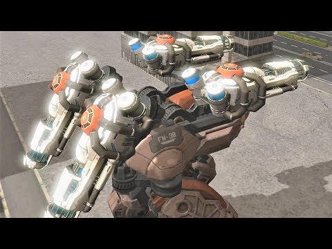 War Robots [3.6] Test Server - NEW Heavy Weapon Gameplay