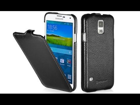 Handyhülle für Samsung Galaxy S5 aus Leder von StilGut