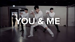 You & Me (Flume Remix) - Disclosure / Jinwoo Yoon Choreography
