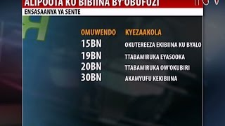 Kampeyini z'ebyobufuzi: NRM yekyasinze okusaasanya sente