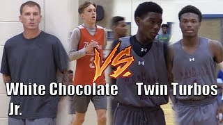 Jaxon Williams aka White Chocolate Jr MEETS the TURBO TWINS & West Oaks!