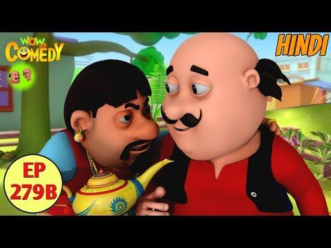Motu Patlu | Cartoon in Hindi | 3D Animated Cartoon Series for Kids | The Fake Jinn Lamp