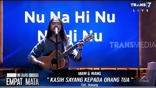 MAWANG Nyanyi, Penonton NANGIS, Tapi Gak Ngerti Artinya | INI BARU EMPAT MATA (11/10/19) Part 1