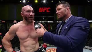 Ion Cutelaba Octagon Interview | UFC Vegas 37