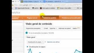 Google Analytics - Relatórios Padrão - Seção Conversões