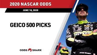 NASCAR GEICO 500 Talladega Superspeedway Picks