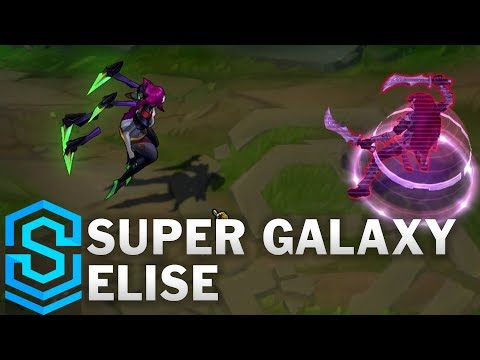 Super Galaxy Elise Skin Spotlight - League of Legends