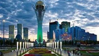 """Из Франции на Астану Ч6"""" столица Казахстана"""""""