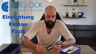 WE.LOCK Passwort und RFID Smartes Türschloss – Einrichtung, Einbau und Fazit