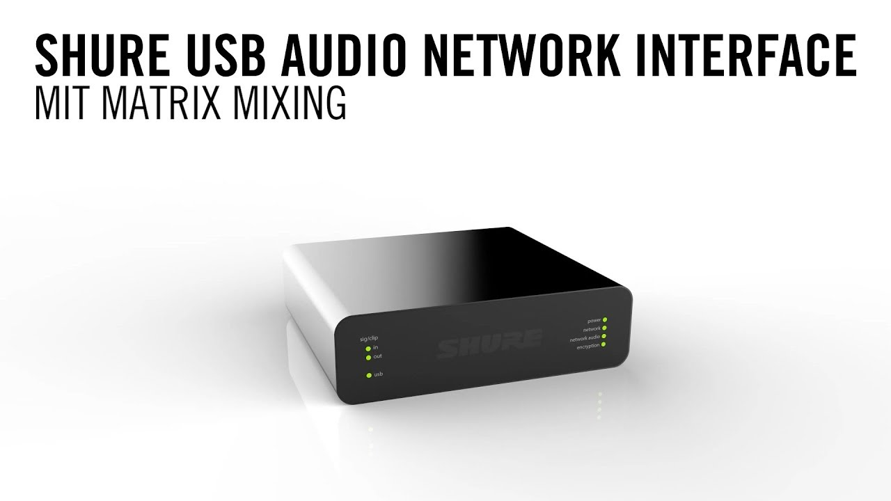 ANIUSB-MATRIX USB Audio Network Interface