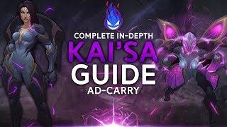 Kai'sa Guide - Strongest ADC | League of legends