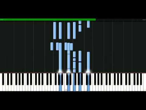 Kenny Rogers - Stuck on you [Piano Tutorial] Synthesia | passkeypiano
