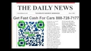 Cash For Cars Without Title Stockton CA 888-862-3001 Sell Junk Car With No Title