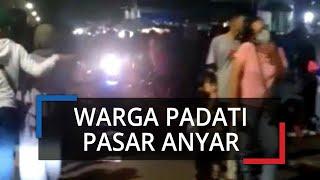 Riuhnya Malam Takbiran di Kota Bogor, Warga Masih Berjubel di Pasar Anyar