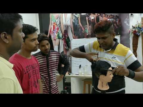 Haircut Training Academy Hyderabad India -040-4346 1989,8099390007