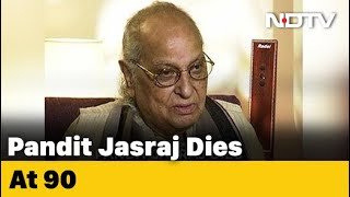 Pandit Jasraj, Legendary Indian Classical Vocalist, Dies At 90  IMAGES, GIF, ANIMATED GIF, WALLPAPER, STICKER FOR WHATSAPP & FACEBOOK