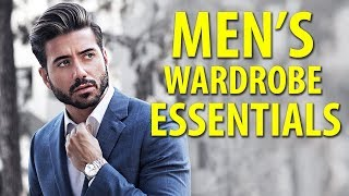 10 Things Every Man Needs In His Closet   Men's Fashion Essentials   Alex Costa