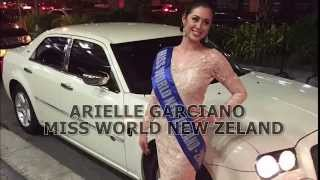 Miss World 2014 Contestant Introduction-Arielle Garciano from New Zealand