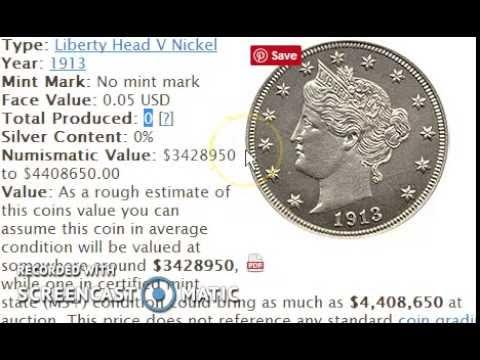Top 10 Nickels Worth Over $3000