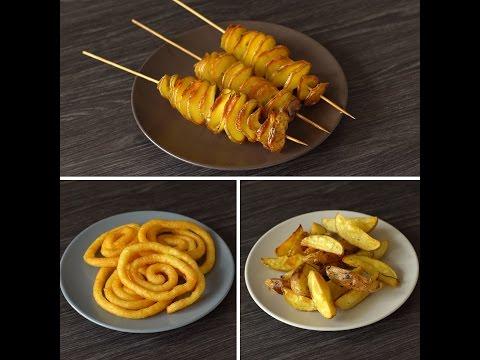 3 Farklı Patates Kızartması Tarifi