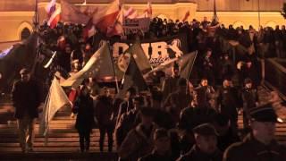 preview picture of video 'Marsz Pamięci Żołnierzy Wyklętych Lublin 1 03 2013'