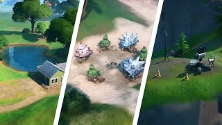 Visit the Boat Launch, Coral Cove, and the Flopper Pond Locations - Fortnite Challenge