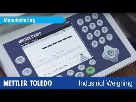Piece Counting and Check Weighing Scales – METTLER TOLEDO ICS Scale Family