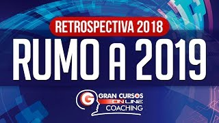 Retrospectiva 2018 - Carreiras - Rumo a 2019