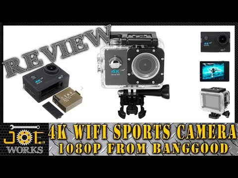REVIEW: Conociendo la Camara Xanes k1 4k WiFi Sports Camera from Banggood. | JOE Works