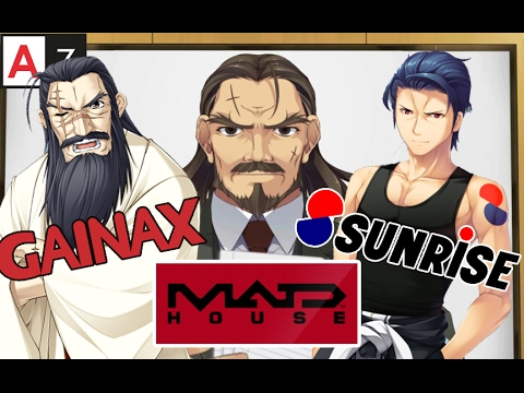 If Anime Studios Were People