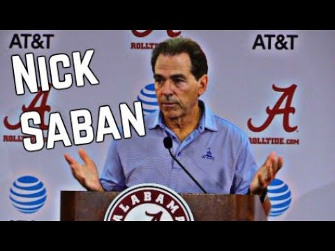 Nick Saban Press Conference from September 4, 2017