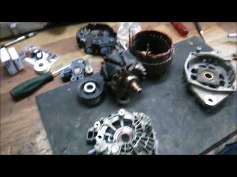 Видео ремонт генератора Хендай Элантра