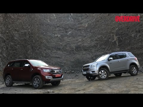 Ford Endeavour vs Chevrolet Trailblazer - Comparative Review