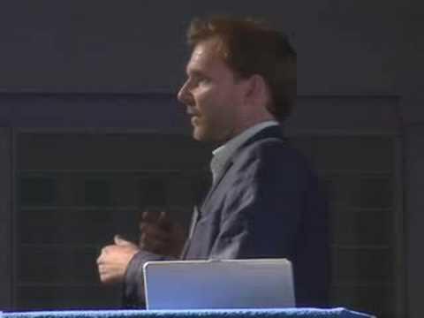 Bebo's UK Sales Manager, Simon Podd at 'Brand Wagon'