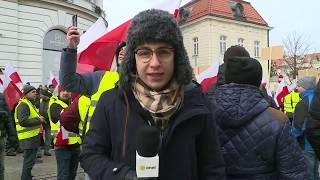 Protest rolników w Warszawie | OnetNews