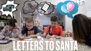 CHRISTMAS WISH LIST 2018 | WRITING LETTERS TO SANTA | WHAT OUR KIDS WANT FOR CHRISTMAS