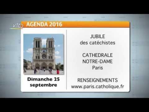 Agenda du 12 septembre 2016