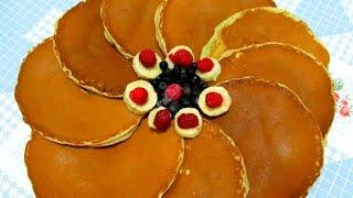 Вкусно - Банановые #ПАНКЕЙКИ Американские #БЛИНЧИКИ Блины #РЕЦЕПТЫ