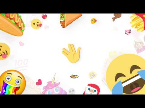 Vídeo do Teclado Facemoji+Emoji & GIFs