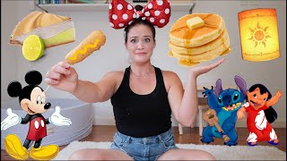 DISNEY FANATIC TESTS OFFICIAL DISNEY RECIPES | Episode One.