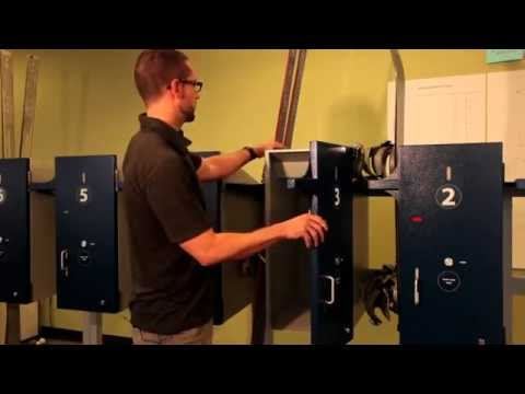 SnowGate Locker System Demo Video