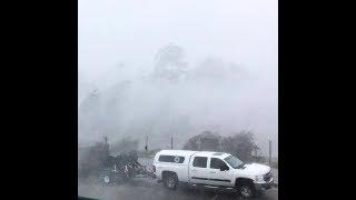 Hurricane Michael in Marianna, Florida - 10/10/2018