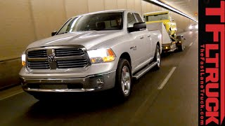 2015 Ram 1500 EcoDiesel: Ike Gauntlet Extreme Towing Test. Fully Loaded.